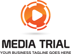 Media tral Logo Vector