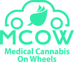 Medical Cannabis on Wheels Logo Vector