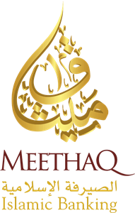 Meethaq islamic banking Logo Vector