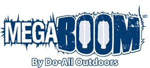 MEGABOOM By Do-All Outdoors Logo Vector