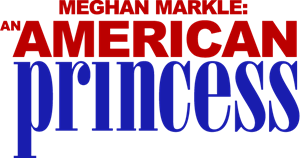 Meghan Markle An American Princess Logo Vector