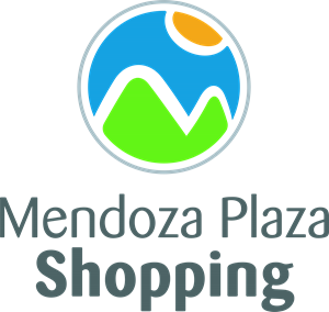 Mendoza Plaza Shopping Logo Vector