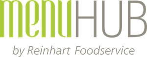 Menu Hub by Reinhart Foodservice Logo Vector