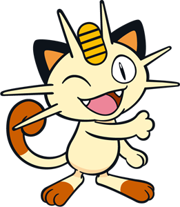Meowth Logo Vector