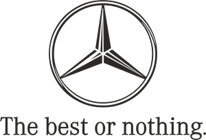 Mercedes Benz - The Best or Nothing Logo Vector