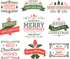 merry christmas logo vector ai free download merry christmas logo vector ai free