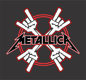 Metallica Fingers Logo Vector