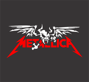 Metallica Skulled Logo Vector