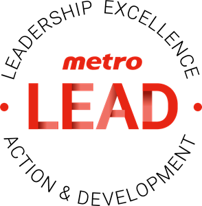 Metro LEAD (Leadership, Excellence, Action, Develo Logo Vector