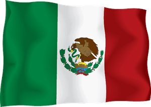 MEXICO INDEPENDENCE DAY FLAG Logo Vector