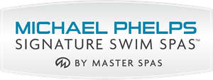 Michael Phelps Swim Signature Swim Spas By Master Logo Vector