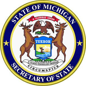 Michigan Secretary of State Logo Vector