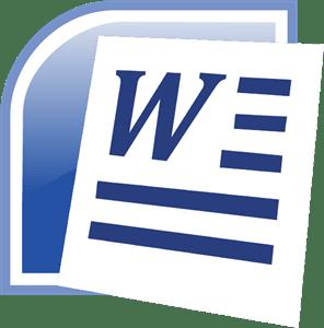 Microsoft Word Logo Vector
