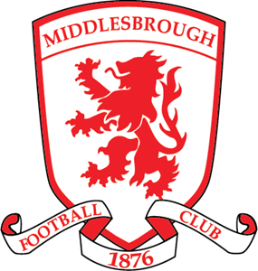 Middlesbrough FC Crest Logo Vector