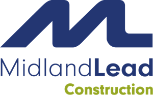 Midland Lead Construction Logo Vector