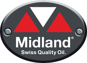 Midland Swiss Oil Logo Vector