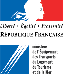 Ministere de l'Equipment des Transport du Logement Logo Vector