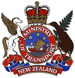 Ministry of Transport of New Zealand Logo Vector