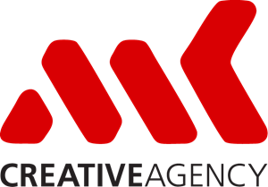 MK Creative Agency Logo Vector