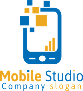 Mobile Studio Logo Vector