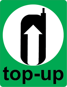 mobile e top up Logo Vector