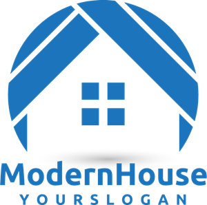 Modern House Logo Vector