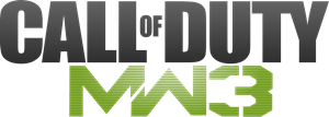 Modern Warfare 3 Logo Vector