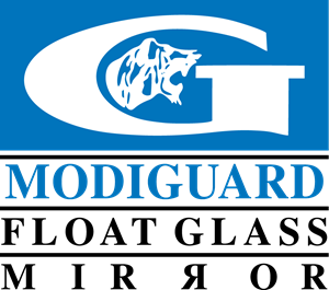 Modiguard Float Glass Mirror Logo Vector