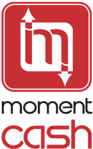 Moment Cash Logo Vector