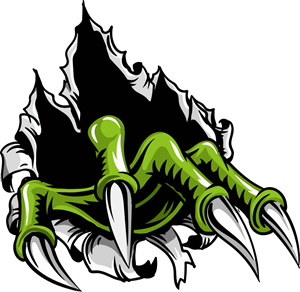 Monster claws Logo Vector
