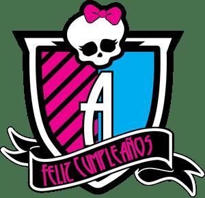 Monster High Feliz Cumpleanos Logo Vector Eps Free Download