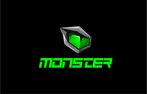 Monster Notebook Logo Vector