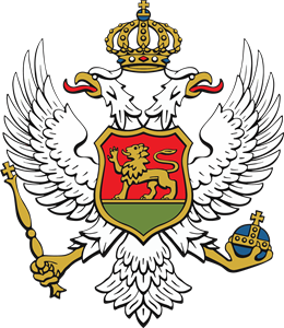 Montenegro Coat of Arms 2020 Logo Vector