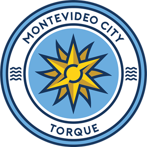 Montevideo City Torque Logo Vector