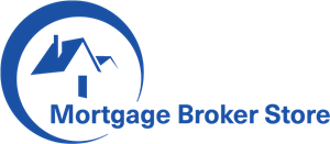 Mortgage Broker Sotre Logo Vector