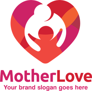 Mother love Logo Vector