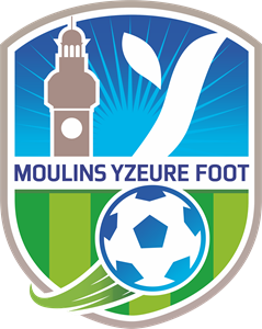 Moulins Yzeure Foot Logo Vector