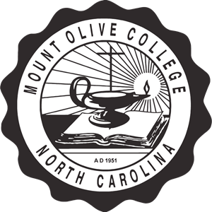 Mount Olive College Seal Logo Vector