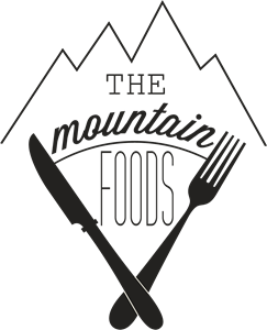 Mountain Food Logo Vector