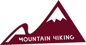 Mountain Hiking Logo Vector