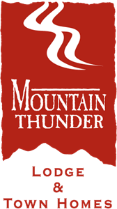 Mountain Thunder Lodge & Town Homes Logo Vector