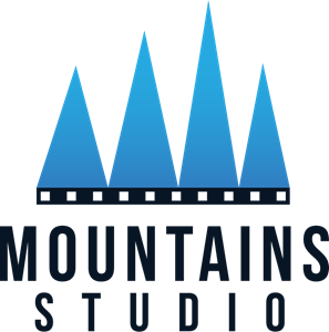 Mountains studio Logo Vector