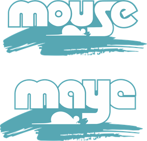 Mouse PS Logo Vector