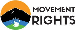 Movement Rights Logo Vector