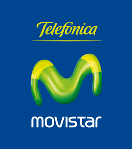 Movistar Telefonica Logo Vector