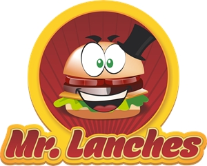 Mr Lanches Logo Vector