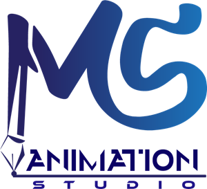 MS Animation Studio Logo Vector