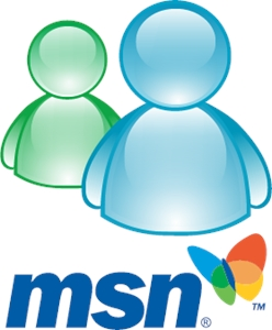 MSN Messenger Logo Vector
