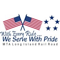 Mta Lirr We Serve With Pride Logo Vector