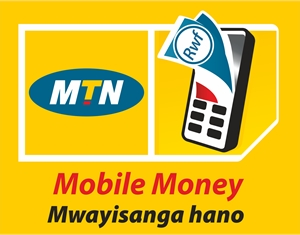 MTN Mobile Money Logo Vector